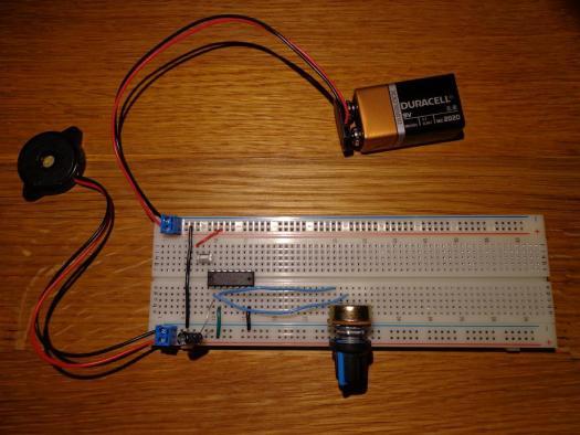 AM Oscillator as Built 1