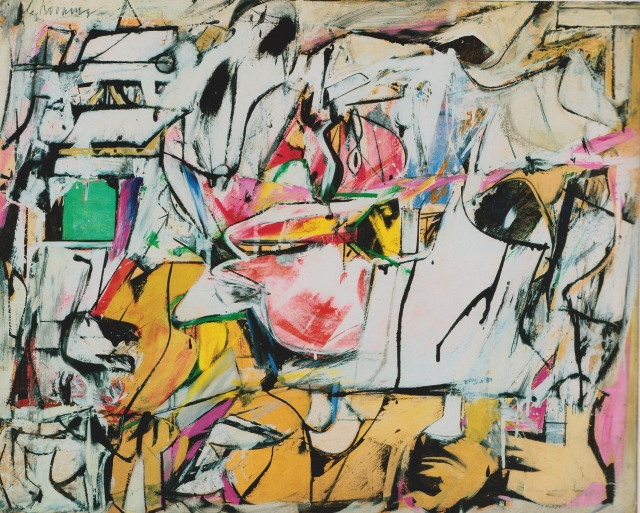 Asheville by Willem de Kooning 1948