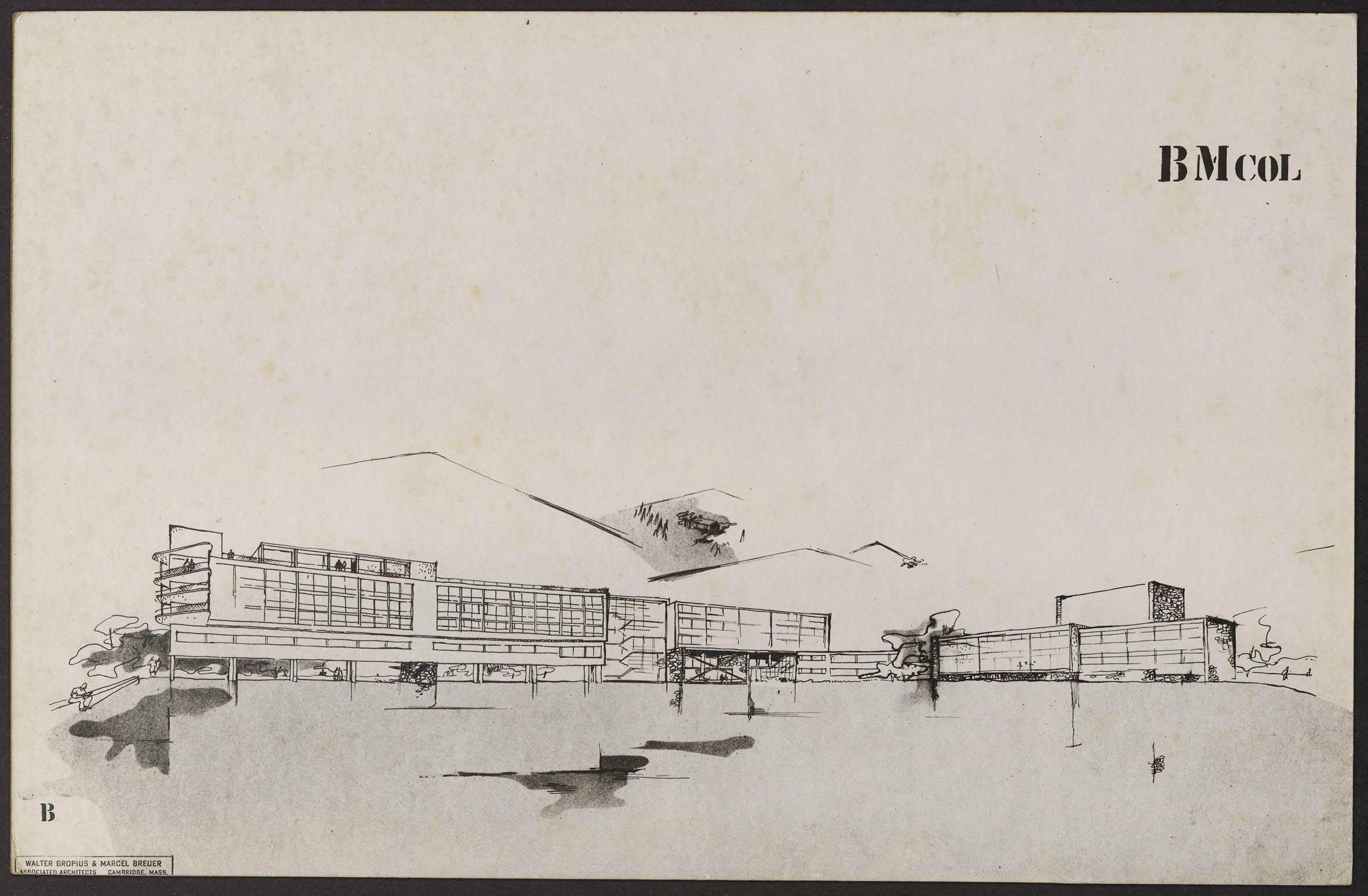 Lake_Eden_Drawing by Gropius and Breuer 1939