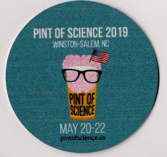 Pint of Science Coaster